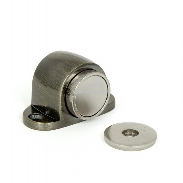 Упор дверной напольный магнит. 31мм бронза ант. PALLADIUM