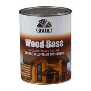 Грунт для защиты древесины бесцветный DUFA Wood Base 1л