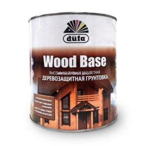 Грунт для защиты древесины бесцветный DUFA Wood Base 3л