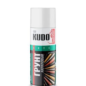 Грунт аэрозольный акриловый белый KUDO 520мл