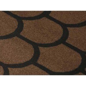 Черепица рулонная коричневая ТЕХНОНИКОЛЬ Бобровый хвост 1х8м 8м²
