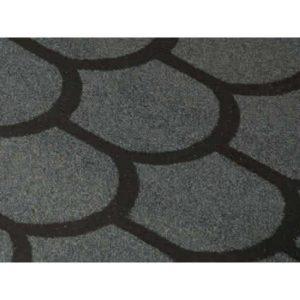Черепица рулонная серая ТЕХНОНИКОЛЬ Бобровый хвост 1х8м 8м²