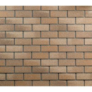 Плитка фасадная песчаный кирпич ТЕХНОНИКОЛЬ Hauberk 1000х250х3,3мм 2м²