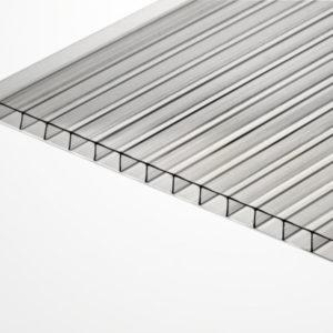 Сотовый поликарбонат прозрачный 2100х6000х6мм
