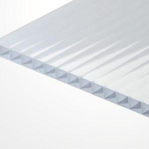 Сотовый поликарбонат белый 2100х6000х4мм