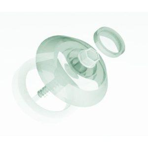 Термошайба для поликарбоната прозрачный Ø40мм