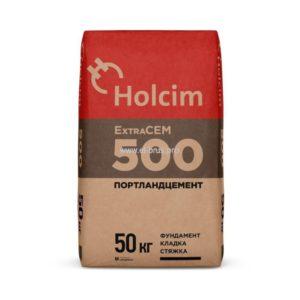 Цемент М500 HOLCIM Extracem 50кг