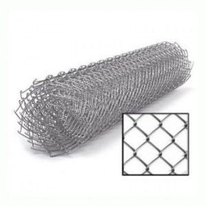 Сетка Рабица оцинкованная 50х50х1,6мм 1,5х10м