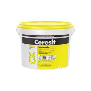 Гидропломба блиц-цемент CERESIT СХ1 2кг