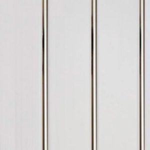 Вагонка ПВХ Серебро Хром СПК 3000х240х8мм