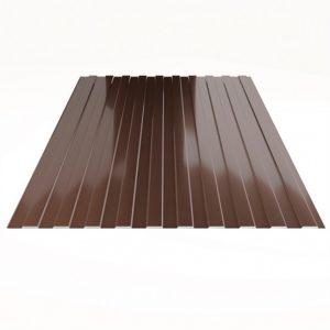 Профлист С-8 шоколад 0,4х1185х2000мм