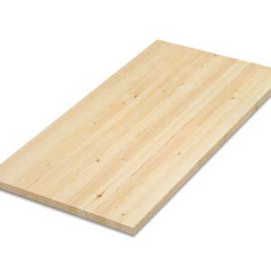 Мебельный щит хв/п сорт АВ клееный 18х250х1000мм