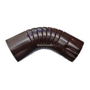 Колено универсальное Ø100мм коричневый