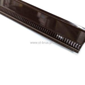 Отлив 120мм коричневый L-2000мм