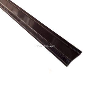 Отлив  50мм коричневый L-1500мм