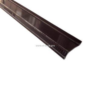 Отлив  90мм коричневый L-2000мм