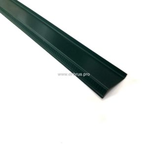 Отлив  90мм зеленый L-1500мм