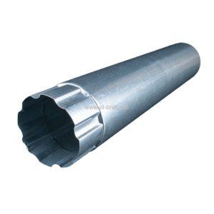 Труба водосточная металл. Ø100мм оцинк. L-1000мм