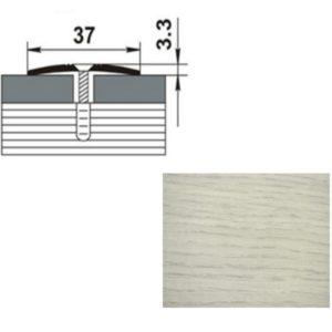 Профиль стыкоперекрывающий ПС03.1350.105 ДУБ АРКТИК 37мм