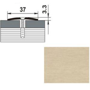 Профиль стыкоперекрывающий ПС03.1350.045 ДУБ ДЫМЧАТЫЙ 37мм