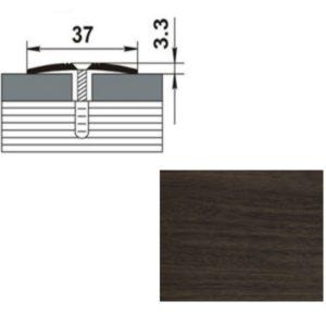 Профиль стыкоперекрывающий ПС03.900.061 ДУБ МОККО 37мм