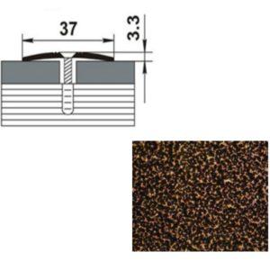 Профиль стыкоперекрывающий ПС03.900.06 МЕДЬ АНТИК 37мм