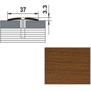 Профиль стыкоперекрывающий ПС03.1350.088 ОРЕХ 37мм