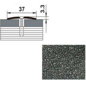 Профиль стыкоперекрывающий ПС03.1350.05 СЕРЕБРО АНТИК 37мм