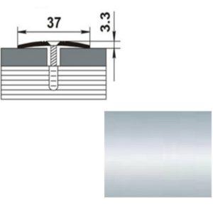 Профиль стыкоперекрывающий ПС03.900.01п СЕРЕБРО ЛЮКС 37мм