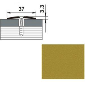 Профиль стыкоперекрывающий ПС03.900.02п ЗОЛОТО ЛЮКС 37мм