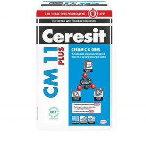 Клей для плитки CERESIT СМ11 Plus 25кг