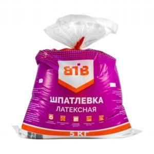 Шпатлевка латексная ВТВ 5кг