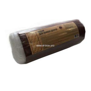 Комплект для обивки дверей красно-коричневый 210х105см