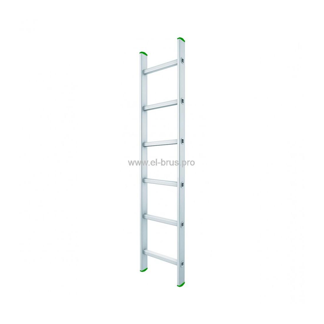 Лестница односекционная 6 ступеней LWI