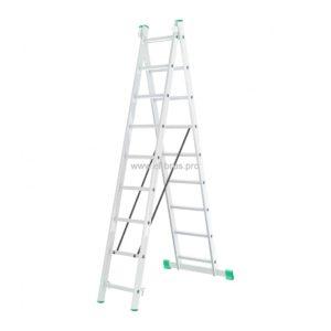 Лестница-стремянка 2- 9 двухсекционная LWI