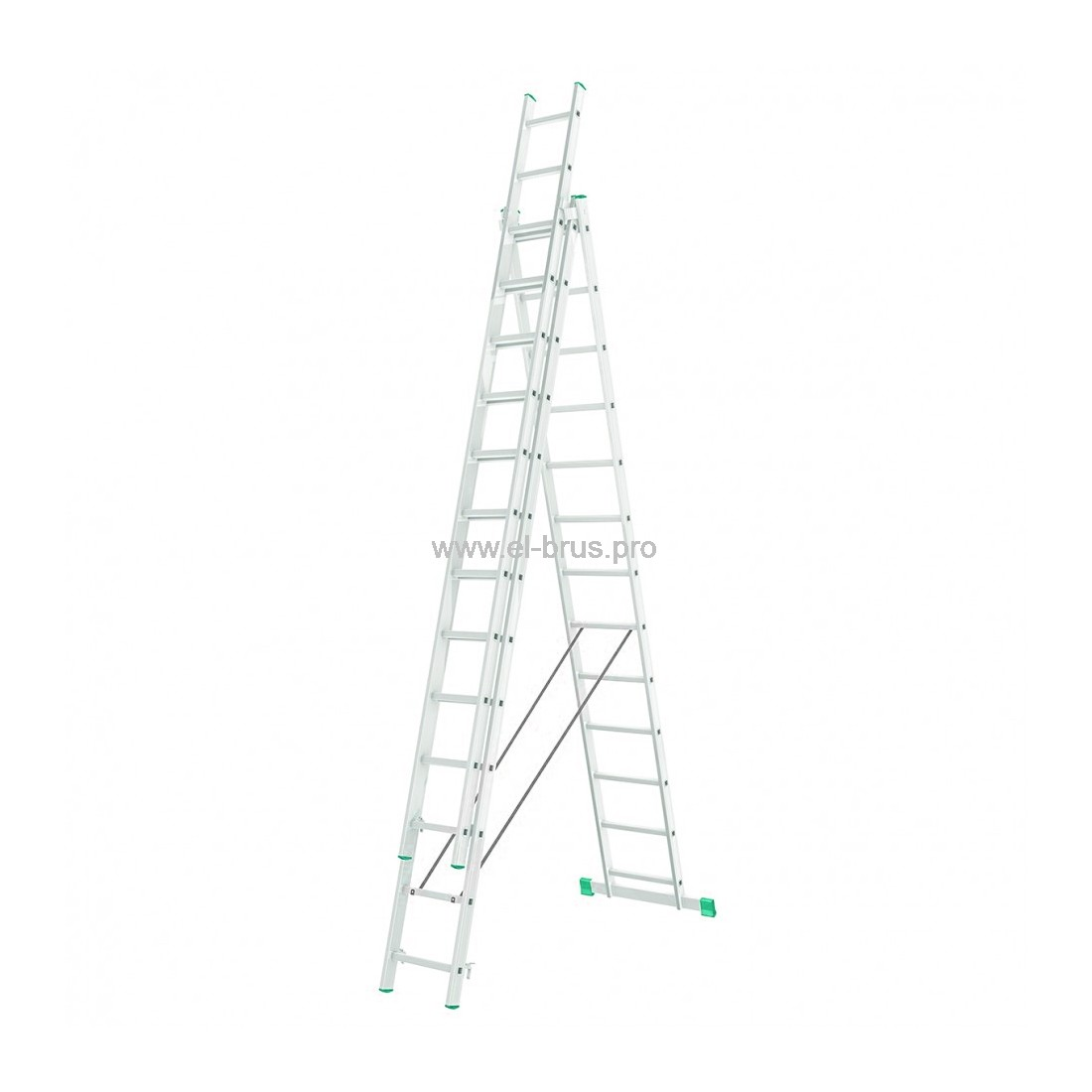 Лестница-стремянка 3-13 трехсекционная LWI