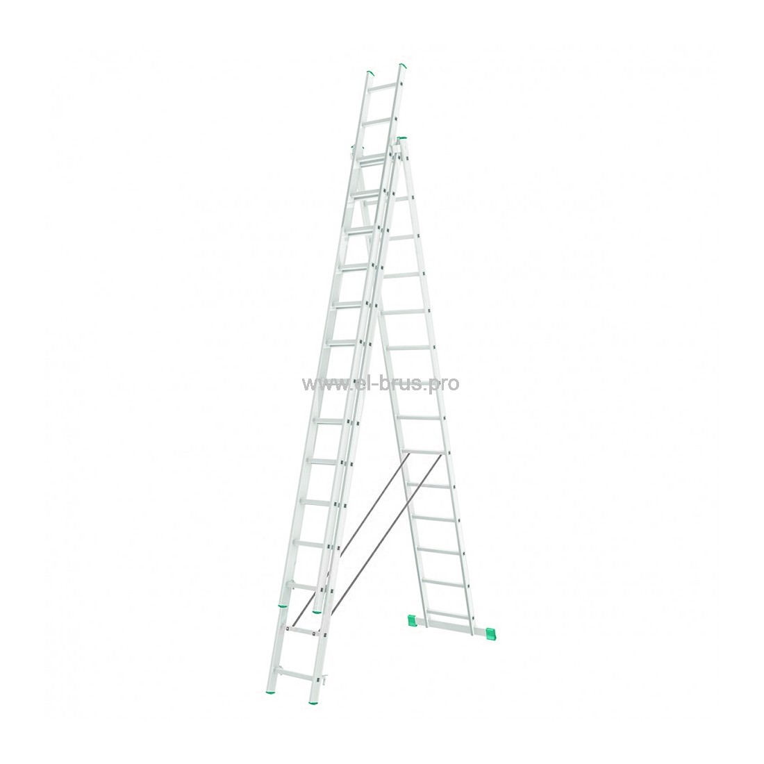 Лестница-стремянка 3-14 трехсекционная LWI