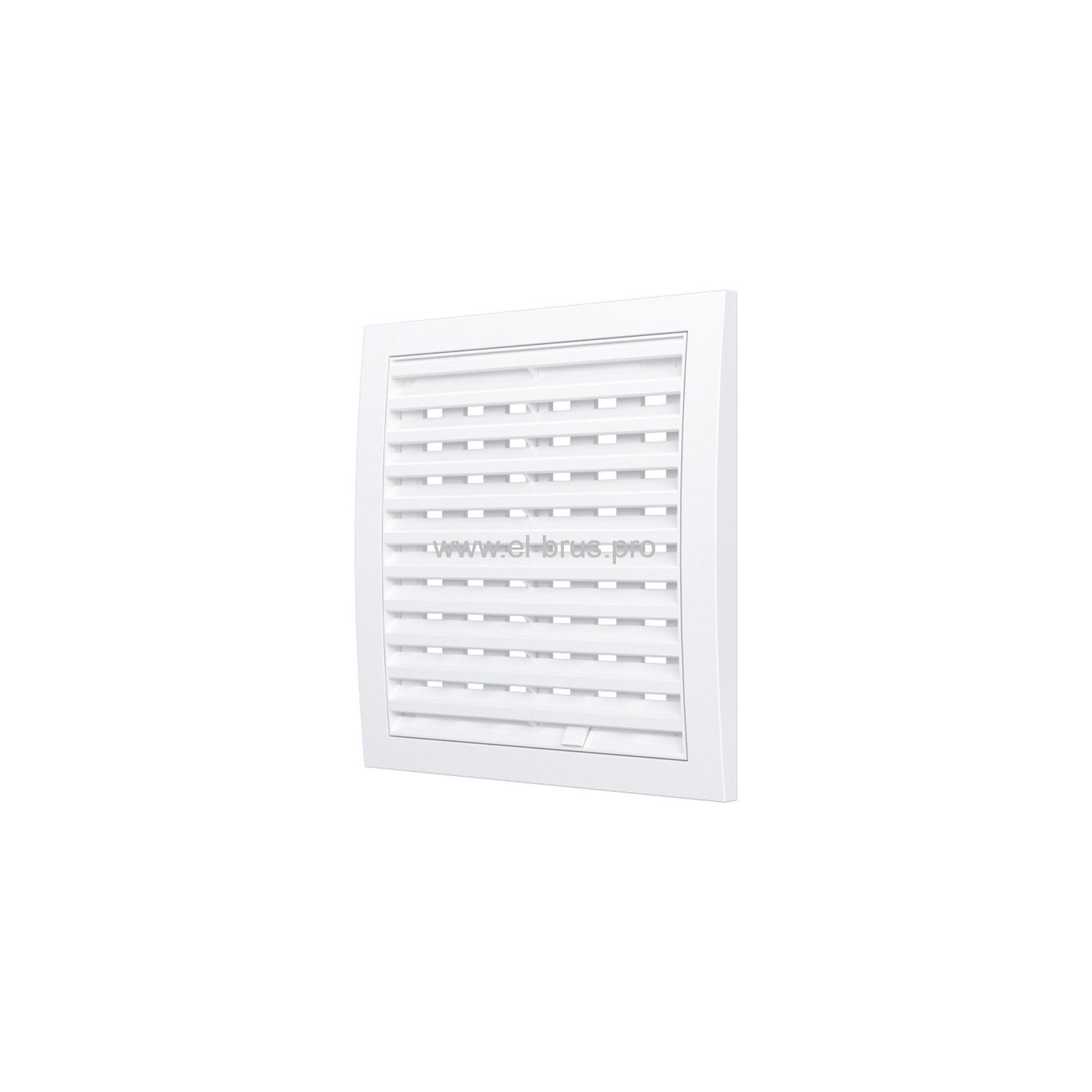 Решетка вент. разъемная регулир. 150х150мм белая ERA 1515РРП