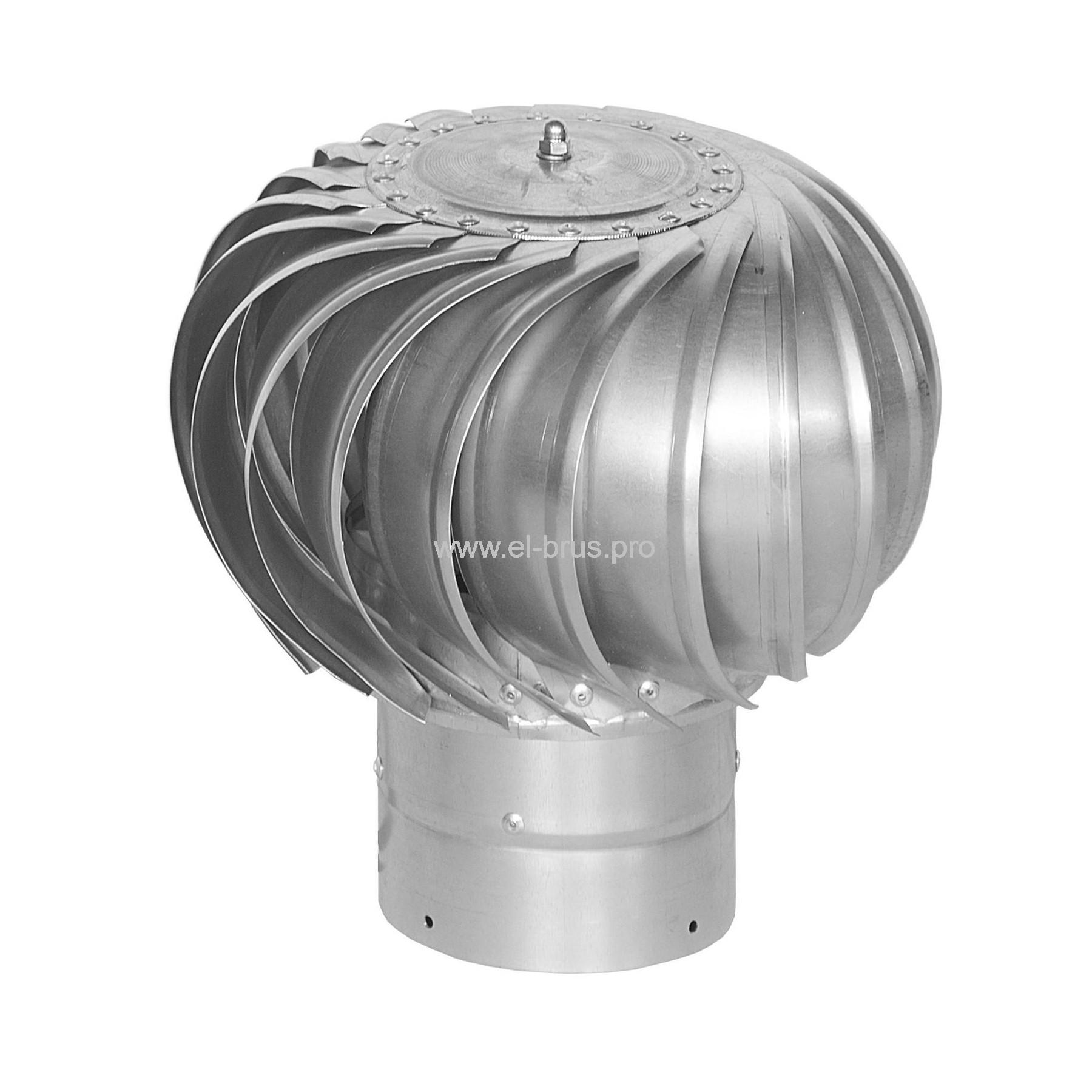 Турбодефлектор оцинк. металл Ø100мм