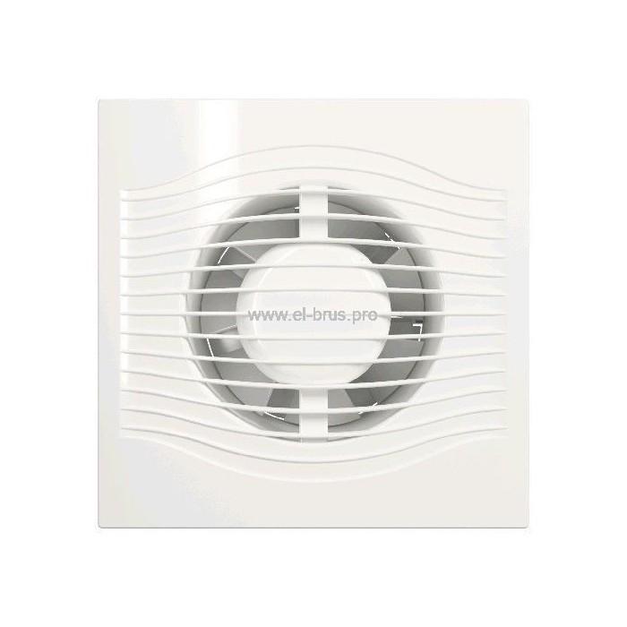 Вентилятор осевой вытяжной DiSiTi SLIM 4 Ø100мм